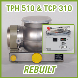 Pfeiffer Balzers TPH 510 Turbomolecular Vacuum Pump with TCP 310 Package