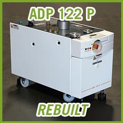 Adixen Alcatel ADP 122 P Dry Vacuum Pump - REBUILT