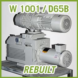 Leybold RUTA W 1001 / D65B Vacuum Pump System - REBUILT