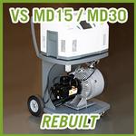 Agilent VS MD15 / MD30+ Mobile Helium Leak Detector - REBUILT
