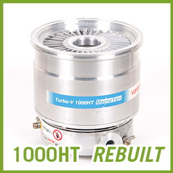 Agilent Varian TV 1000HT Macro Torr Turbo Pump - REBUILT