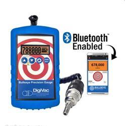 DigiVac Bullseye Precision Vacuum Gauge with Bluetooth - NEW