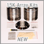 Brooks CTI-Cryogenics On-Board & Cryo-Torr 15K Array Kits - NEW