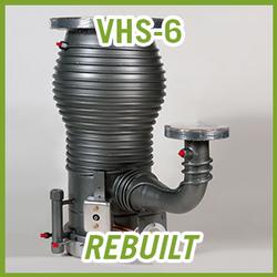 Agilent Varian VHS-6 Diffusion High Vacuum Pump - REBUILT