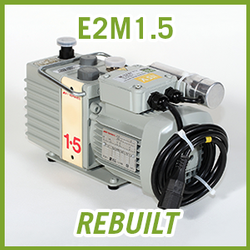 Edwards E2M1.5 Two Stage Vacuum Pump - REBUILT