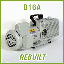 Leybold TRIVAC D16A Vacuum Pump - REBUILT