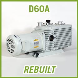Leybold TRIVAC D60A Vacuum Pump - REBUILT