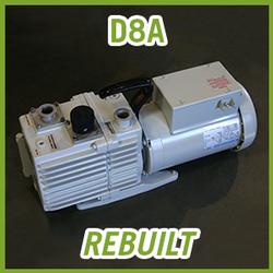 Leybold TRIVAC D8A Vacuum Pump - REBUILT