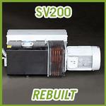 Leybold SOGEVAC SV200 Vacuum Pump - REBUILT
