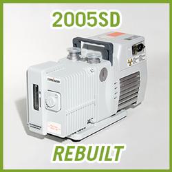 Pfeiffer Adixen Alcatel 2005SD Pascal Vacuum Pump - REBUILT