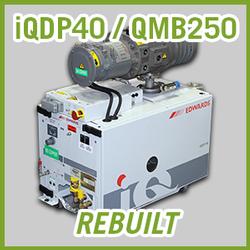 Edwards iQDP40 / QMB250 Vacuum Blower System - REBUILT