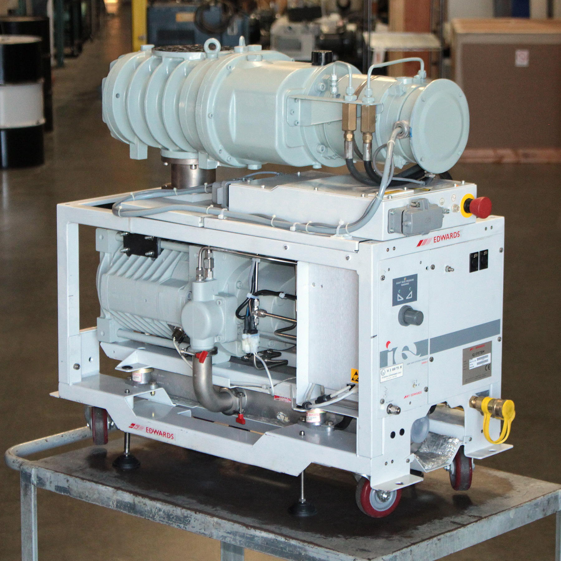 Edwards iQDP80 / QMB500 Vacuum Blower System REBUILT #5F4737