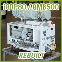 Edwards iQDP80 / QMB500 Vacuum Blower System - REBUILT