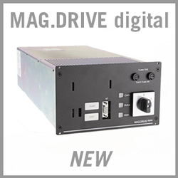 Leybold MAG.DRIVE digital Frequency Converter - NEW
