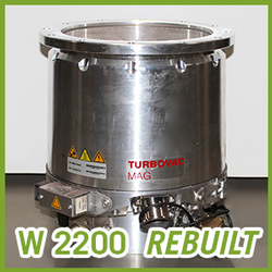 Leybold Vacuum TURBOVAC MAG W 2200 / C / CT Turbo Pump - REBUILT