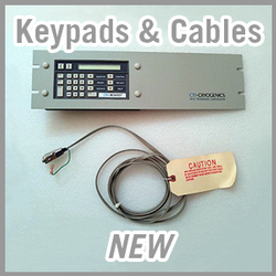 Brooks CTI-Cryogenics Keypads & Cables - NEW
