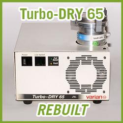 Agilent Varian Turbo-DRY 65 Turbo Vacuum Pump System - REBUILT