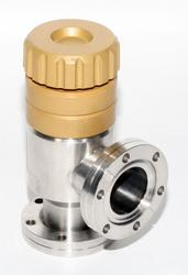 "Huntington EV-150 2.75"" Conflat Manual Vacuum Angle Valve"