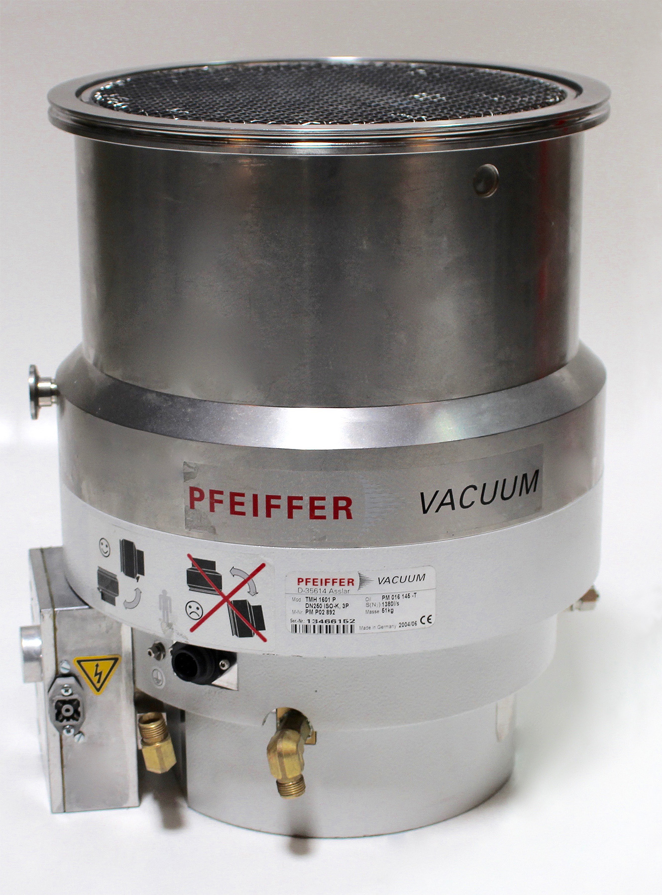 Pfeiffer Vacuum TMH 1601 P Turbo Pump