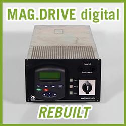 Leybold MAG.DRIVE digital Frequency Converter - REBUILT