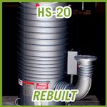 Agilent Varian HS-20 Diffusion High Vacuum Pump - REBUILT