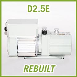 Leybold TRIVAC D2.5E Vacuum Pump - REBUILT