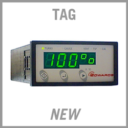 Edwards TAG Turbo & Active Vacuum Gauge Controller - NEW