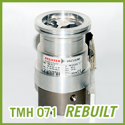 Pfeiffer Vacuum TMH 071 Turbo Pump - REBUILT