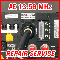 Advanced Energy AE 13.56 MHz RF Plasma Power Supplies - REPAIR SERVICE