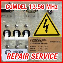 COMDEL 13.56 MHz RF Plasma Power Supplies - REPAIR SERVICE