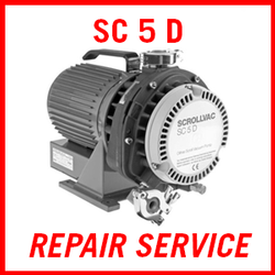 Leybold SCROLLVAC SC 5 D - REPAIR SERVICE