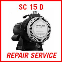 Leybold SC 15 D - REPAIR SERVICE