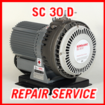 Leybold SC 30 D - REPAIR SERVICE