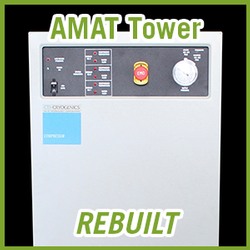 Brooks CTI-Cryogenics AMAT Compressor Tower - REBUILT
