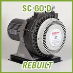 Leybold SCROLLVAC SC 60 D Dry Scroll Vacuum Pump - REBUILT