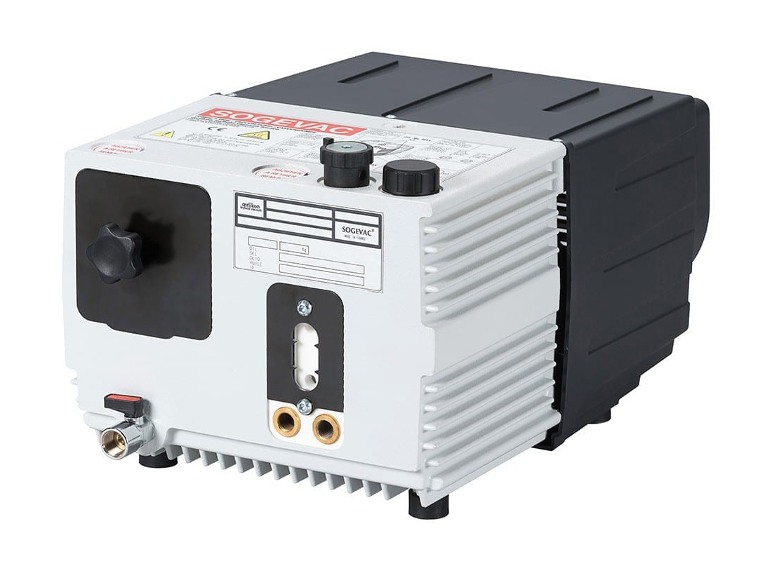 Leybold Sogevac Sv 25 D Rotary Vane Vacuum Pump New Control Gt Power Supply Circuit Breakers Generators For Automation