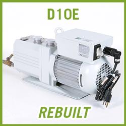 Leybold TRIVAC D10E Vacuum Pump - REBUILT