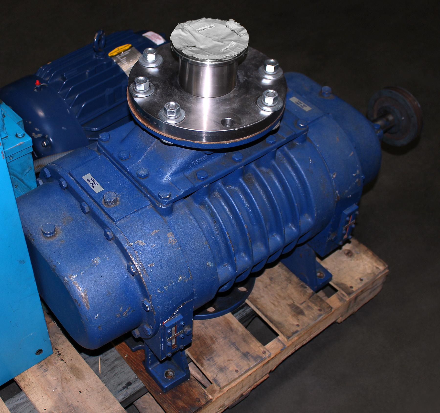 Tuthill Blower Systems : Tuthill kinney kmbd vacuum blower rebuilt