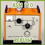 Alcatel ASM 110 Turbo CL Helium Leak Detector w/ Control Module - REBUILT