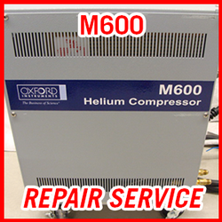 Oxford M600 Helium Compressor - REPAIR SERVICE