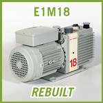 Edwards E1M18 Single Stage Vacuum Pump - REBUILT
