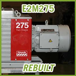 Edwards E2M275 Two Stage Vacuum Pump - REBUILT