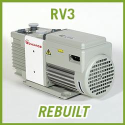 Edwards RV3 Two Stage Vacuum Pump - REBUILT