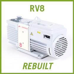Edwards RV8 Two Stage Vacuum Pump - REBUILT