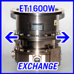 EBARA ET1600W Turbomolecular Vacuum Pump - EXCHANGE SERVICE