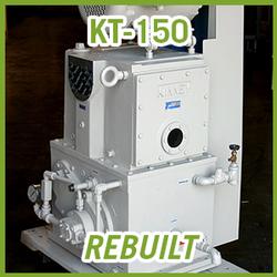 Tuthill Kinney KT-150 Rotary Piston Vacuum Pump - REBUILT
