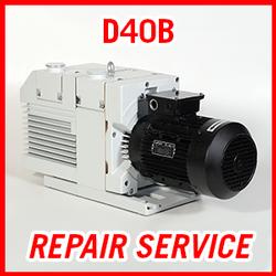 Leybold D40B - REPAIR SERVICE