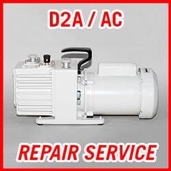 Leybold D2A / D2AC - REPAIR SERVICE