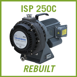 ANEST IWATA ISP 250C Dry Scroll Vacuum Pump - REBUILT