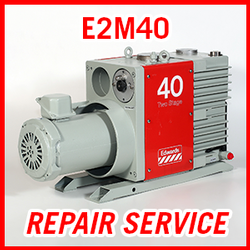 Edwards E2M40 - REPAIR SERVICE